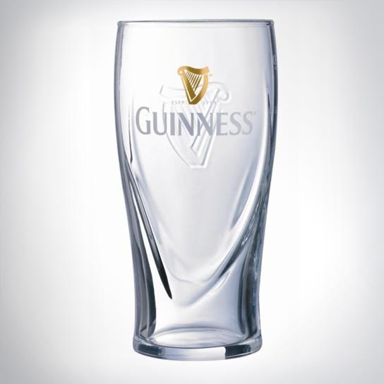 Prototype Guinness glasses