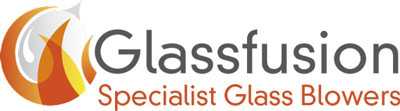 Glassfusion Ltd: Specialist Glass Blowers Mobile Retina Logo