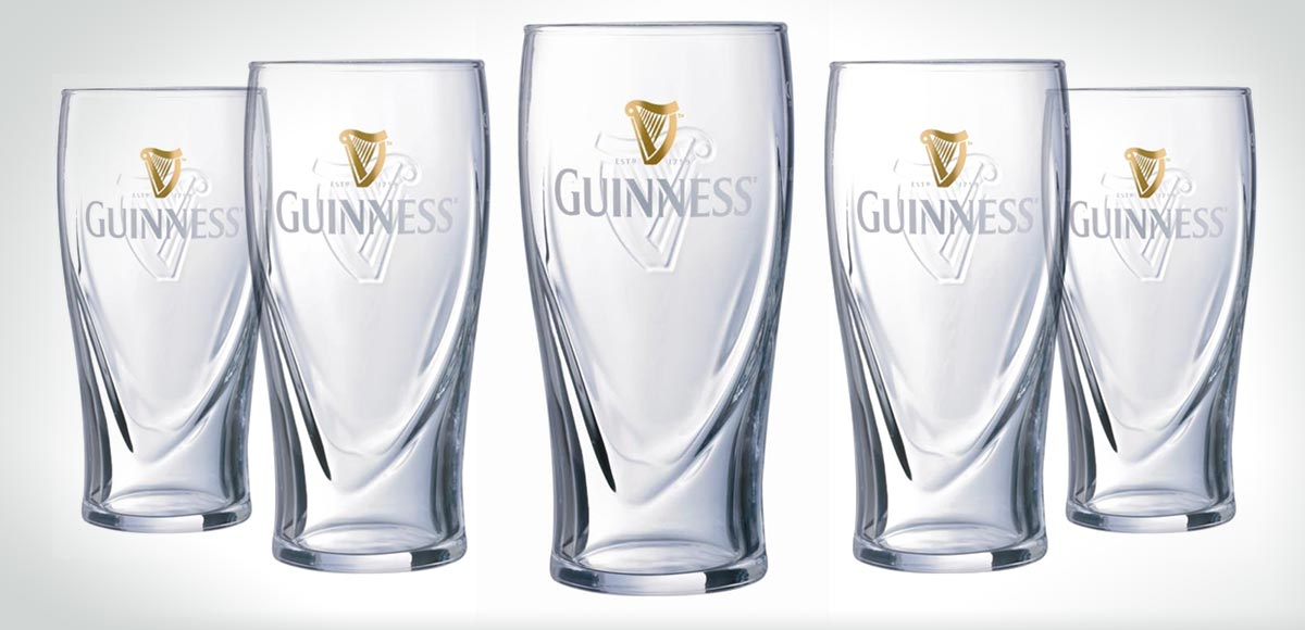Guinness Glass Prototypes